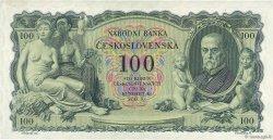 100 Korun TCHÉCOSLOVAQUIE  1931 P.023a SUP
