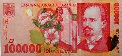 100000 Lei ROUMANIE  1998 P.110 SPL