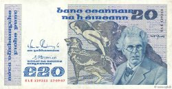 20 Pounds IRLANDE  1987 P.073c TTB