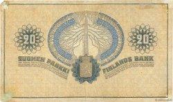 20 Markkaa FINLANDE  1918 P.038 TTB