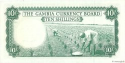 10 Shillings GAMBIE  1965 P.01a