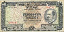 50 Escudos MOZAMBIQUE  1950 P.102 TTB