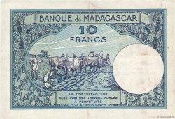 10 Francs MADAGASCAR  1947 K.804b
