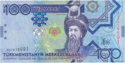100 Manat TURKMÉNISTAN  2009 P.27 NEUF