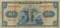 10 Deutsche Mark ALLEMAGNE FÉDÉRALE  1948 P.05a B+