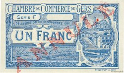 1 Franc FRANCE régionalisme et divers AUCH 1914 JP.015.08 NEUF