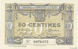 50 Centimes FRANCE régionalisme et divers Calais 1918 JP.036.42 NEUF