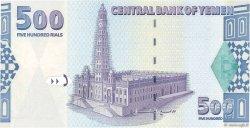 500 Rials YÉMEN - RÉPUBLIQUE ARABE  2001 P.31 NEUF