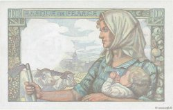 10 Francs MINEUR FRANCE  1943 F.08.09 SUP