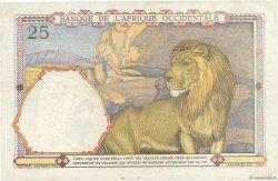 25 Francs type 1933 AFRIQUE OCCIDENTALE FRANÇAISE (1895-1958)  1939 P.22 TTB+