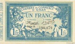 1 Franc ORAN ALGÉRIE  1915 JP.141.08 pr.NEUF