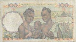 100 Francs AFRIQUE OCCIDENTALE FRANÇAISE (1895-1958)  1948 P.40 TTB