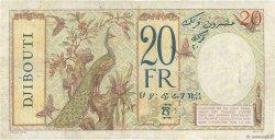 20 Francs DJIBOUTI  1936 P.07A TB+