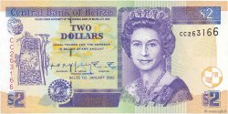 2 Dollars BELIZE  2002 P.60b NEUF