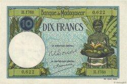 10 Francs MADAGASCAR  1957 P.36 pr.NEUF