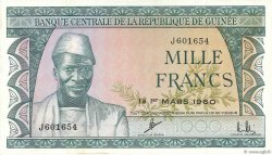 1000 Francs GUINÉE  1960 P.15a SPL