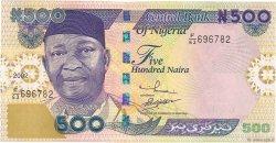 500 Naira NIGERIA  2002 P.30b NEUF