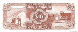 10 Dollars GUYANA  1989 P.23d NEUF
