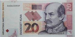 20 Kuna CROATIE  2001 P.39a NEUF