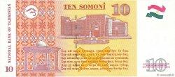 10 Somoni TADJIKISTAN  1999 P.16a NEUF