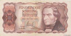 500 Shilling AUTRICHE  1965 P.139 pr.TTB
