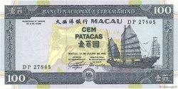 100 Patacas MACAO  1992 P.068a pr.NEUF