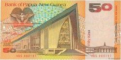 50 Kina PAPOUASIE NOUVELLE GUINÉE  1989 P.11 NEUF
