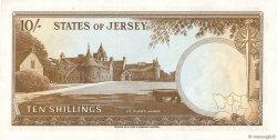 10 Shillings JERSEY  1963 P.07a pr.NEUF