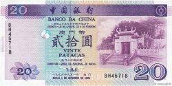20 Patacas MACAO  1996 P.091 NEUF