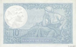 10 Francs MINERVE modifié FRANCE  1941 F.07.27 pr.SPL