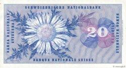 20 Francs SUISSE  1955 P.46c SUP+