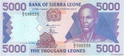 5000 Leones SIERRA LEONE  1993 P.21a NEUF