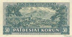 50 Korun TCHÉCOSLOVAQUIE  1948 P.066a NEUF