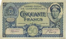 50 Francs LUXEMBOURG  1932 P.38a TTB+