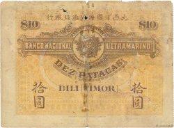 10 Patacas TIMOR  1910 P.03 B