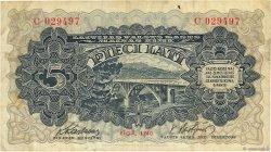 5 Lati LETTONIE  1940 P.34a TTB