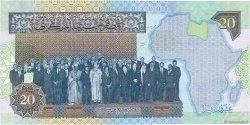 20 Dinars LIBYE  2004 P.67b NEUF
