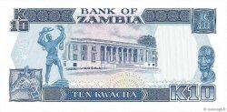 10 Kwacha ZAMBIE  1989 P.31b NEUF