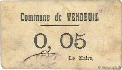 5 Centimes FRANCE régionalisme et divers VENDEUIL 1916 JP.02-2748 TB+