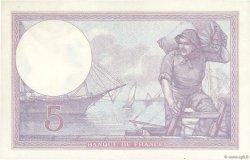 5 Francs VIOLET FRANCE  1922 F.03.06 SUP