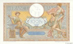 100 Francs LUC OLIVIER MERSON grands cartouches FRANCE  1933 F.24.12 SUP