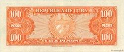 100 Pesos CUBA  1959 P.093a SUP