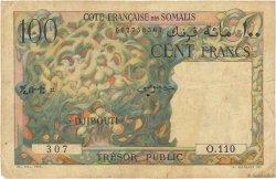 100 Francs DJIBOUTI  1952 P.26 B