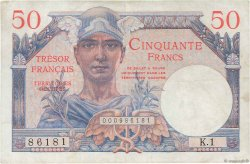 50 Francs Trésor Français FRANCE  1947 VF.31.01 TTB+