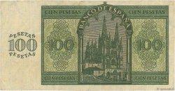 100 Pesetas ESPAGNE  1936 P.101 TTB