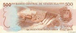 500 Bolivares VENEZUELA  1972 P.056b pr.NEUF