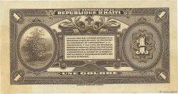 1 Gourde HAÏTI  1919 P.150a TTB+