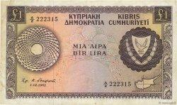 1 Pound CHYPRE  1961 P.39a TTB