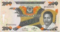 200 Shilingi TANZANIE  1986 P.18a pr.NEUF