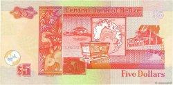 5 Dollars BELIZE  2002 P.61b SUP